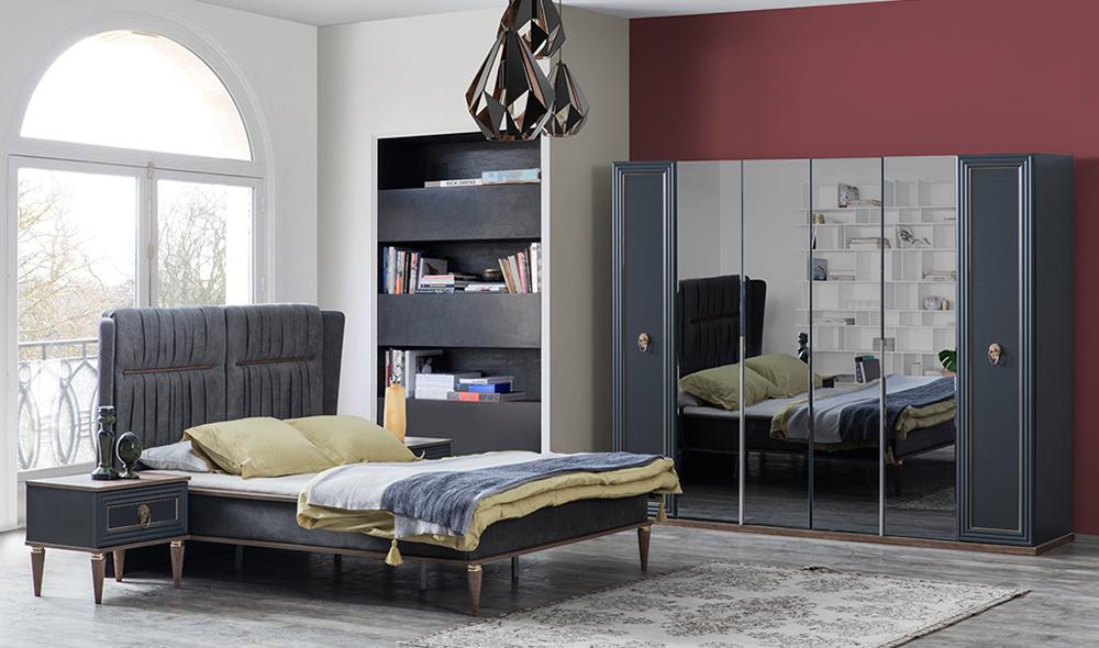 Alin Antrasit Yatak Odası Takımı