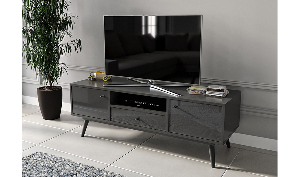 Flexi Room Antrasit Tv Sehpası
