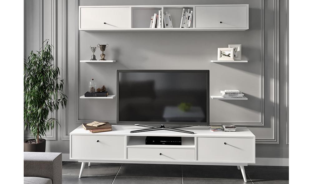 Flexi Room Beyaz Tv Ünitesi