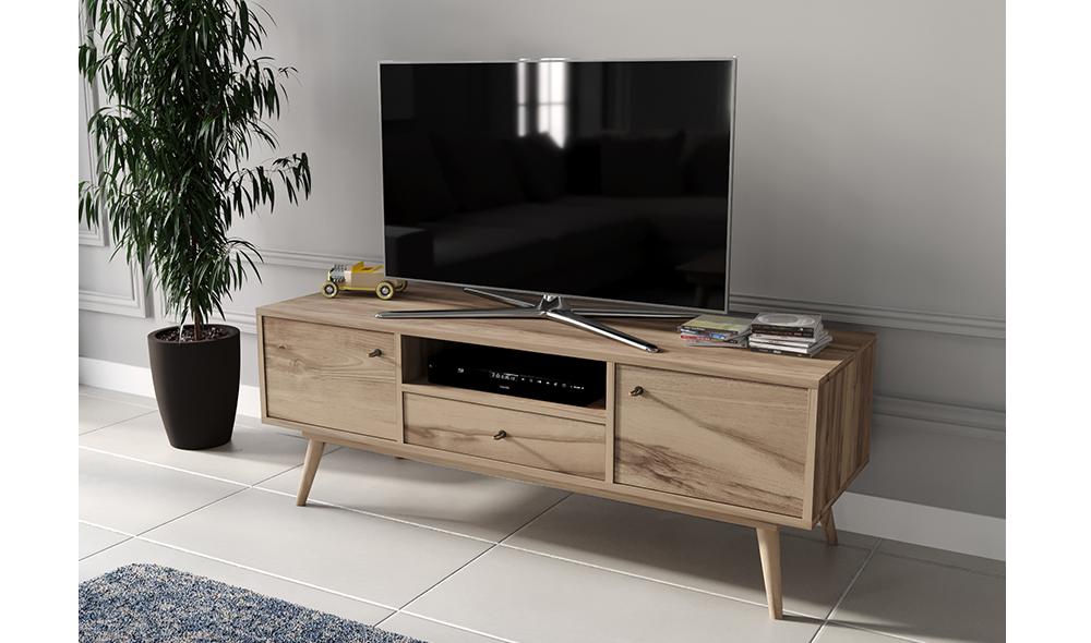 Flexi Room Ceviz TV Sehpası