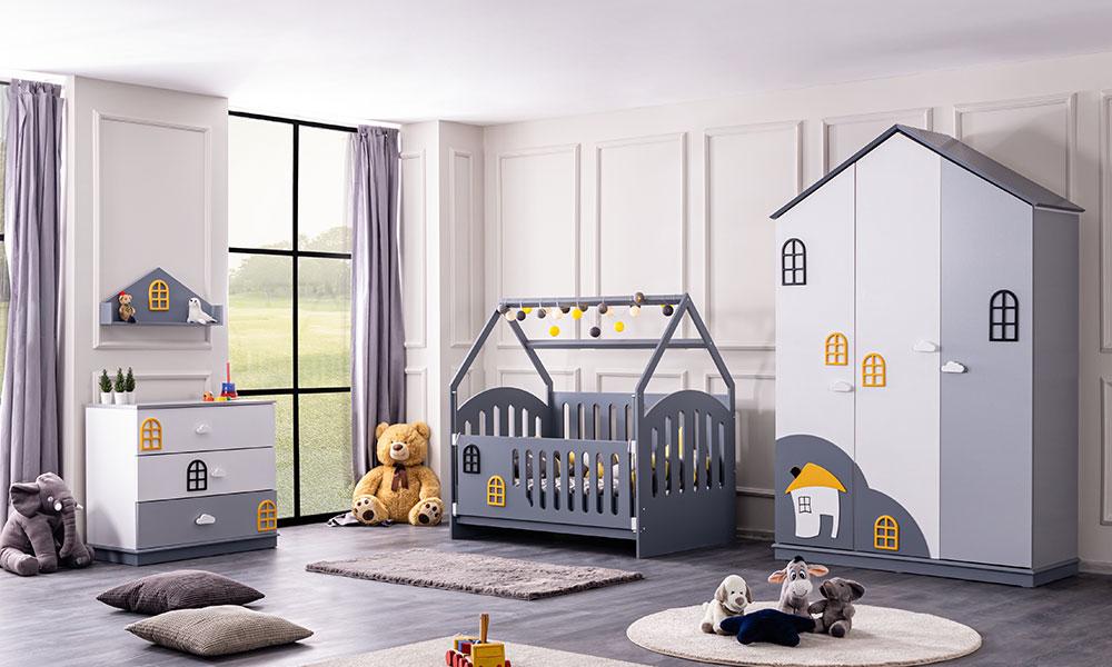Dolce Montessori Beşik Bebek Odası