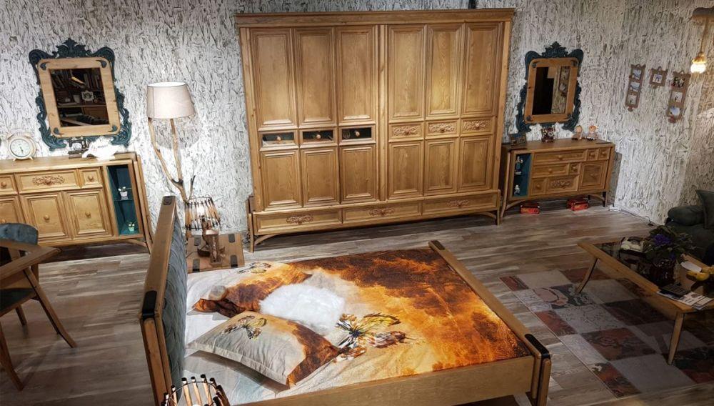 Hisar Ahsap Yatak Odası Takımı