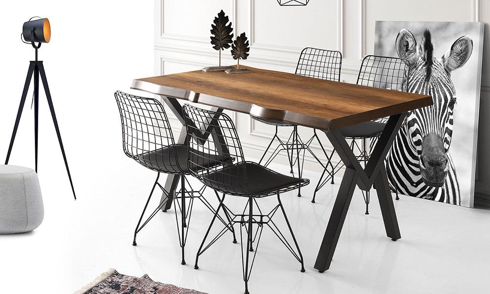 Kütük Masa Gala Sandalye