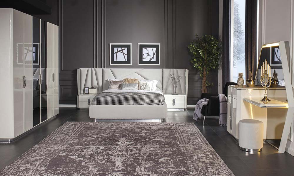 Lima Beyaz Yatak Odası