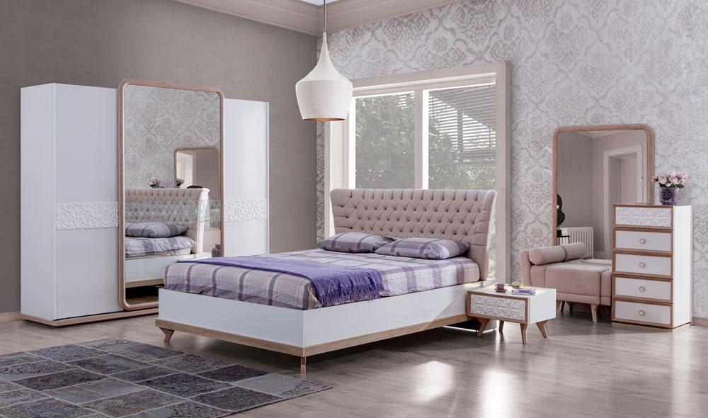 Liza yatak odas tak m s la ev mobilyalar for Mobilya yatak odasi