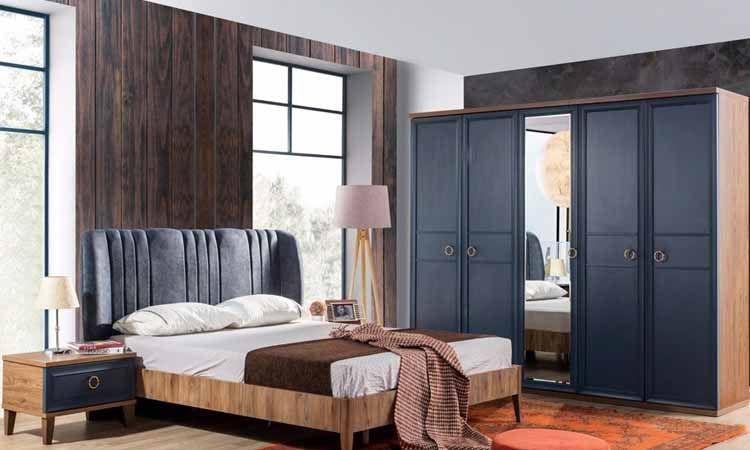 Melis Mavi Yatak Odası Takımı