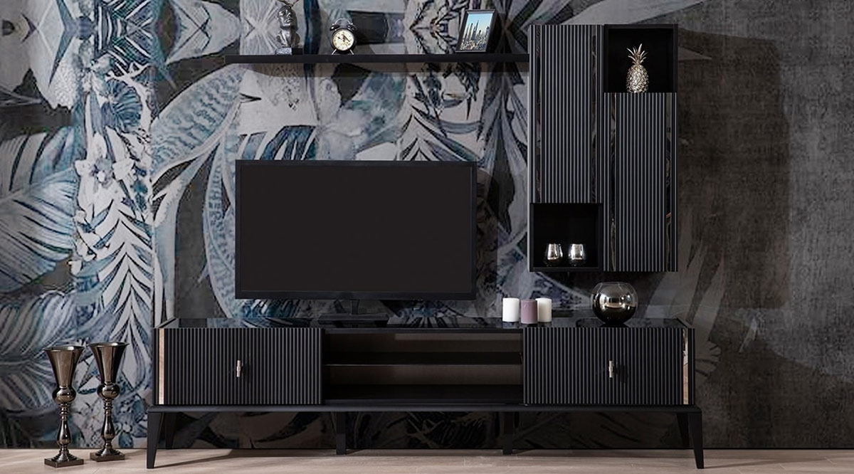Polo Siyah Tv Ünitesi