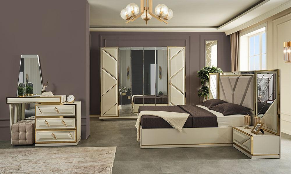 Swiss Aytaşı Yatak Odası