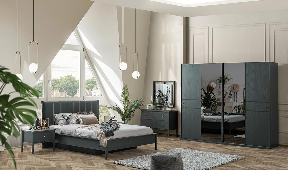 Urban Gray Yatak Odası