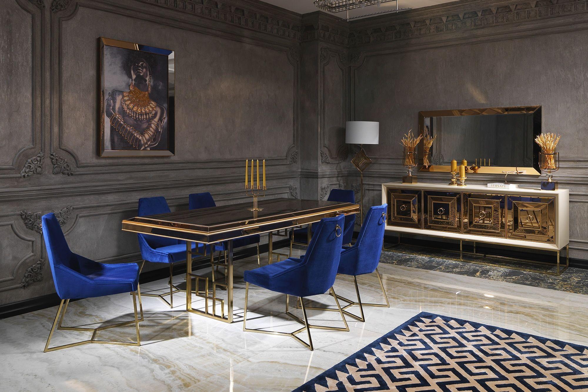 Versace 1020 Yemek Odası Takımı
