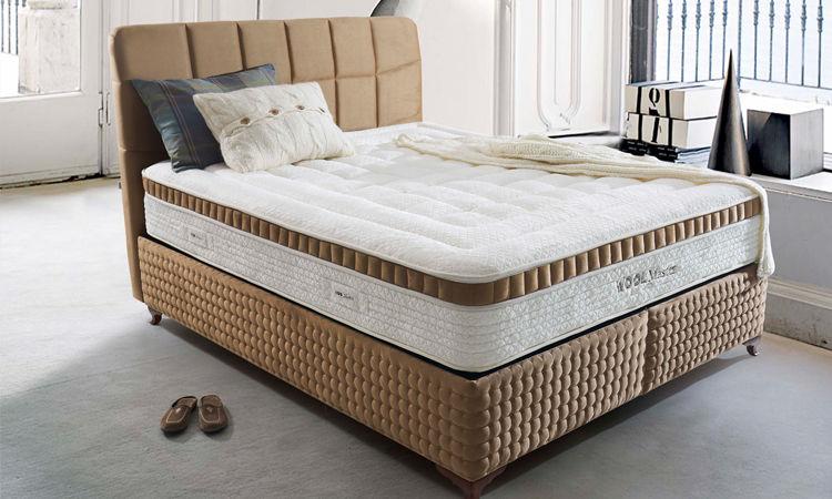 Woolmaster Maya Akın Yatak Baza Set