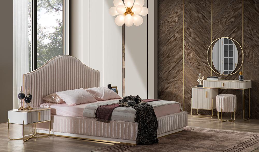 Arora Flat  Bazalı Yatak Odası