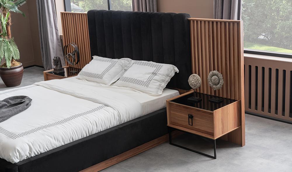Lion Ceviz Yatak Odası