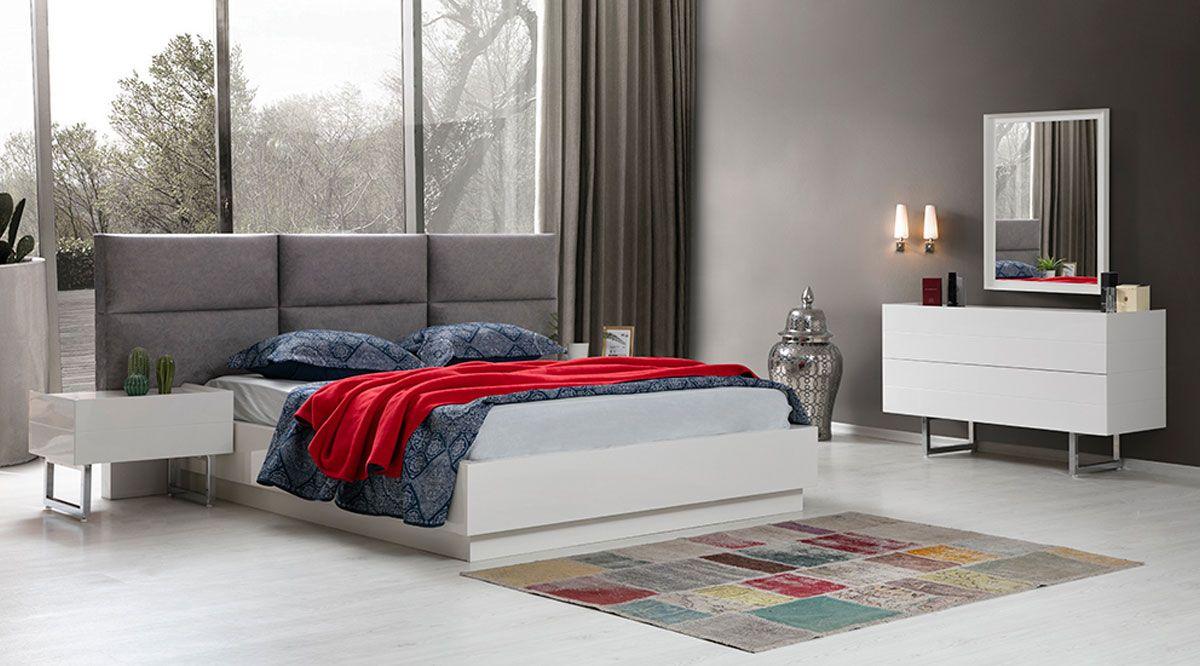 Marküteri  Beyaz Yatak Odası Takımı