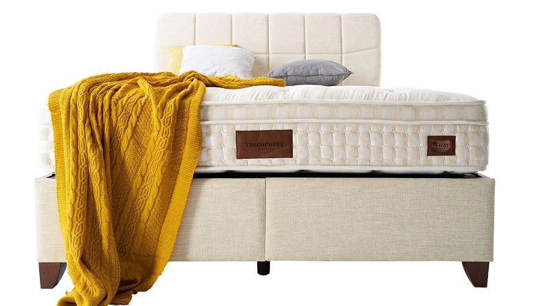 Viscopoint Natural Akın Yatak Baza Set